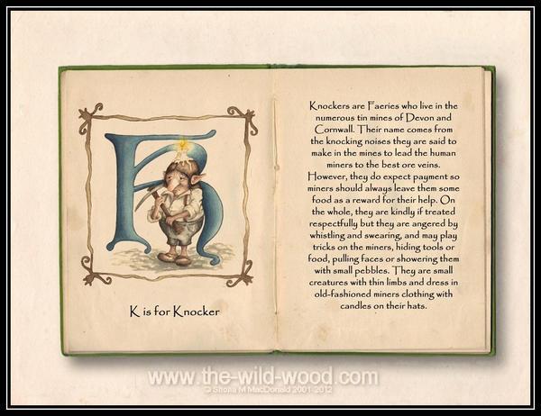 K is for Knocker by WildWoodArtsCo