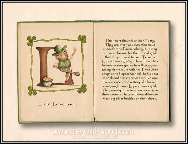 L is for Leprechaun by WildWoodArtsCo