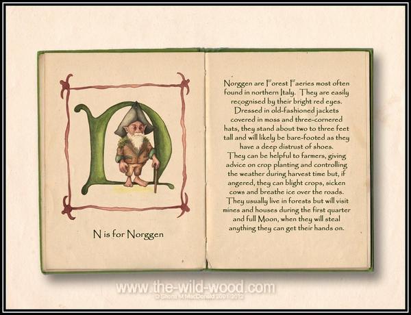 N is for Norggen by WildWoodArtsCo
