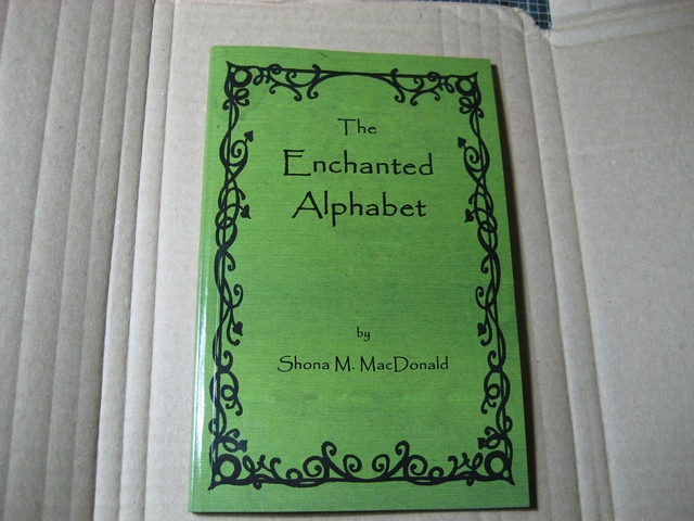 Enchanted Alphabet book cover by WildWoodArtsCo