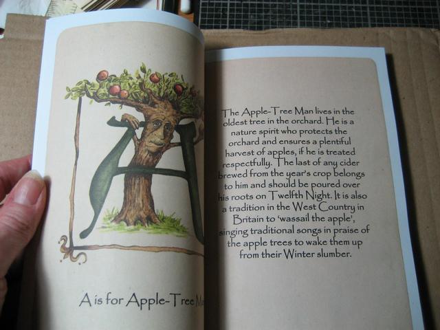 Enchanted Alphabet inside view 1 by WildWoodArtsCo