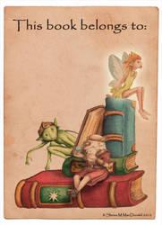 Enchanted Alphabet bookplate