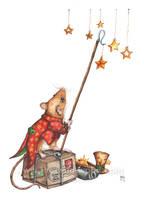 Christmas Stars by WildWoodArtsCo