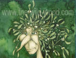 Mistletoe Man by WildWoodArtsCo