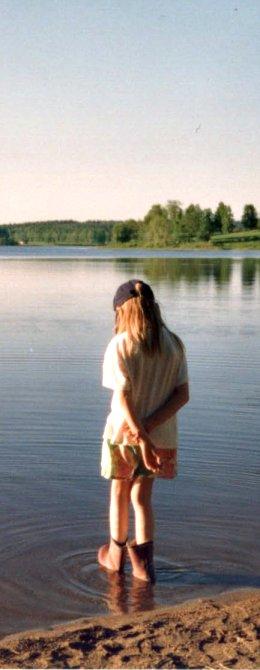 By the lake by Zeggolisko