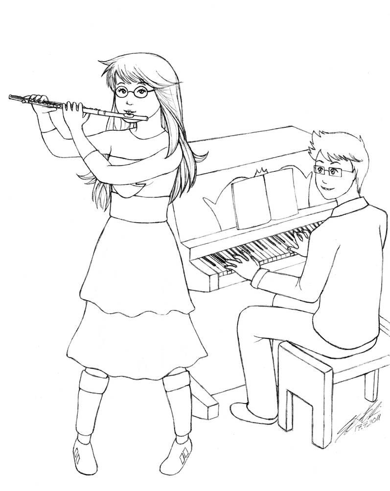 Homestuck: John and Jade by Zeggolisko