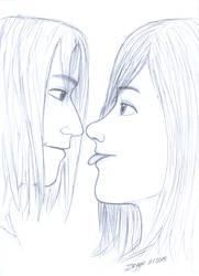Staring contest by Zeggolisko