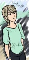 Janet Mirelle -colored by Zeggolisko