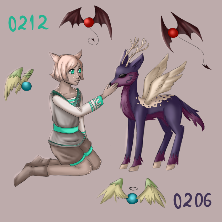 0212 and 0206 by Moferiah
