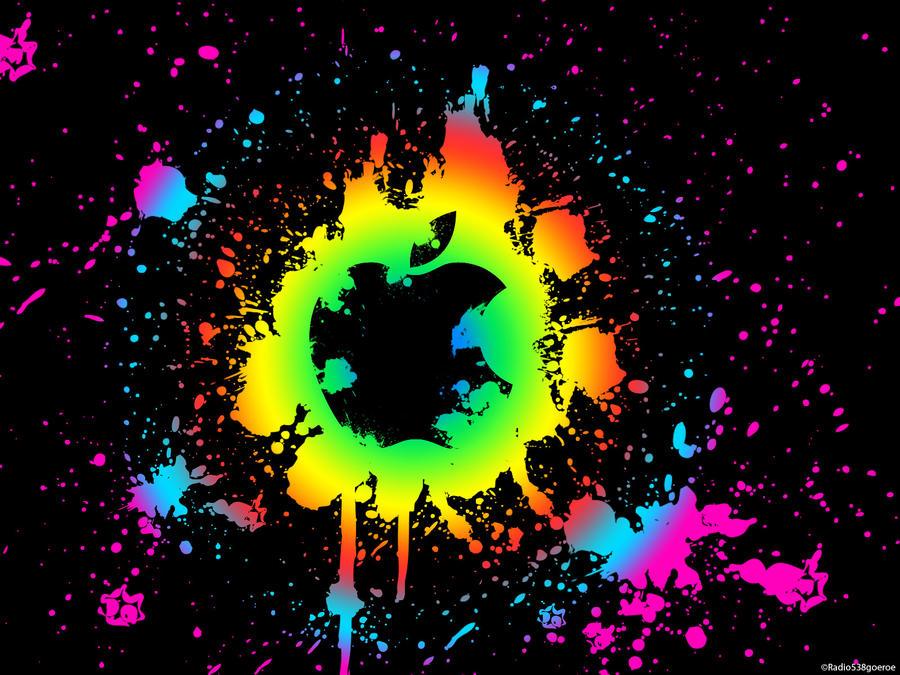 Paint Splatter Wallpaper Mac By Radio538goeroe