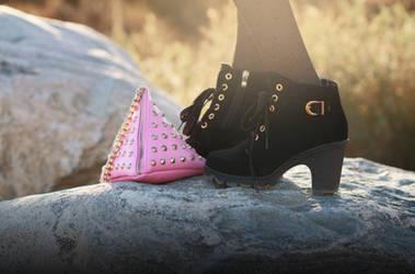 Style shoot for RosieSaysHello.com for SammyDress