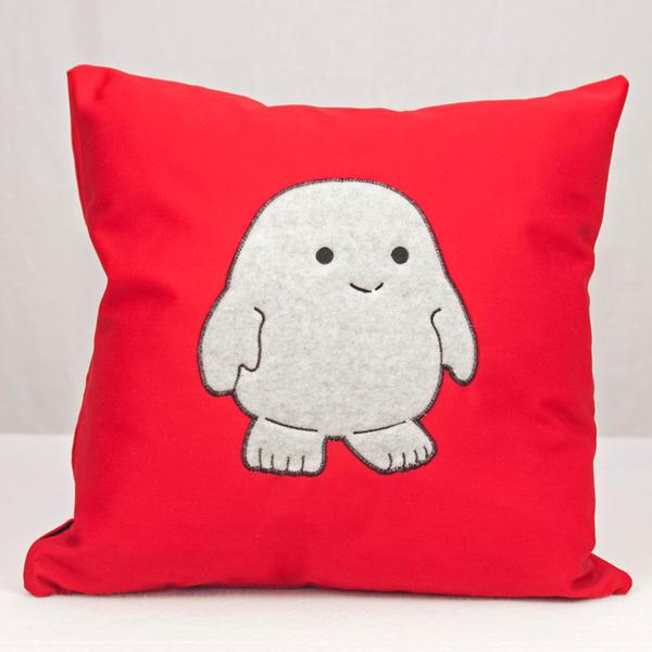 Adipose Throw Pillow by EnglishManinNC on DeviantArt