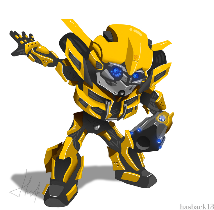 the gallery for chibi bumblebee transformer. Black Bedroom Furniture Sets. Home Design Ideas