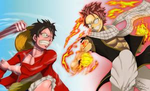 Monkey D. Luffy vs Natsu Dragneel