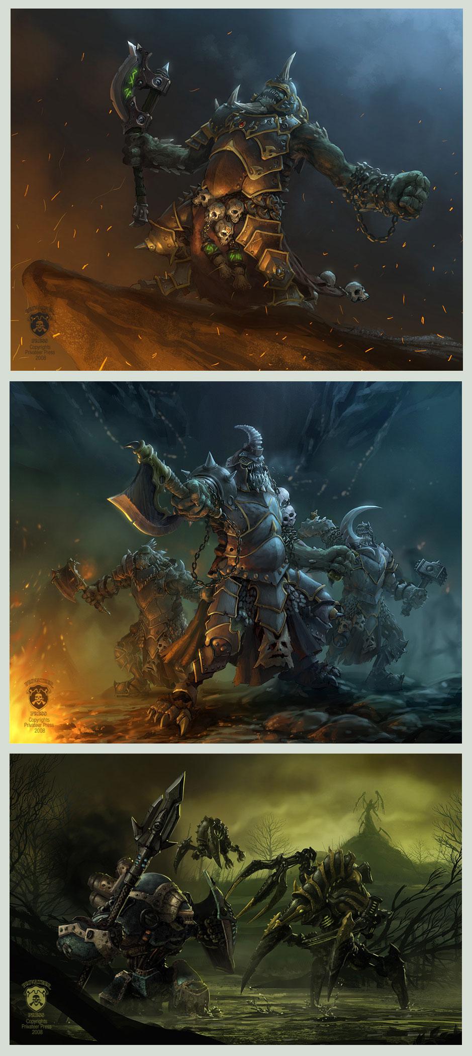 'Warmachine: Legends' 2of4