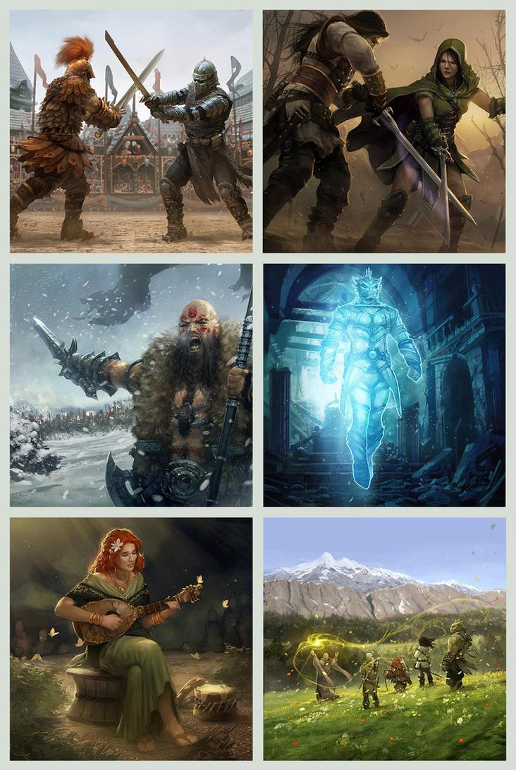 Legends of Norrath card set 01 by OmeN2501