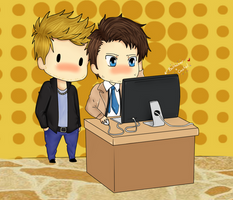 +-+when Cas and Balthazar meets yaoi+-+ by ShadowDark1