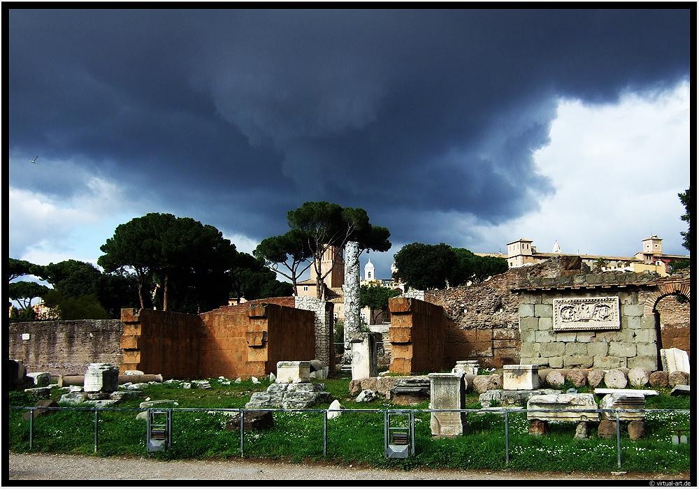 Forum Romanum by d4rkii
