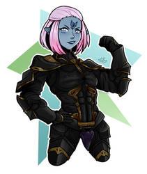 Gwendolyn Noble by WaywardBanana