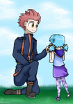 Lance And Luna Father And Daughter  by shinkai14
