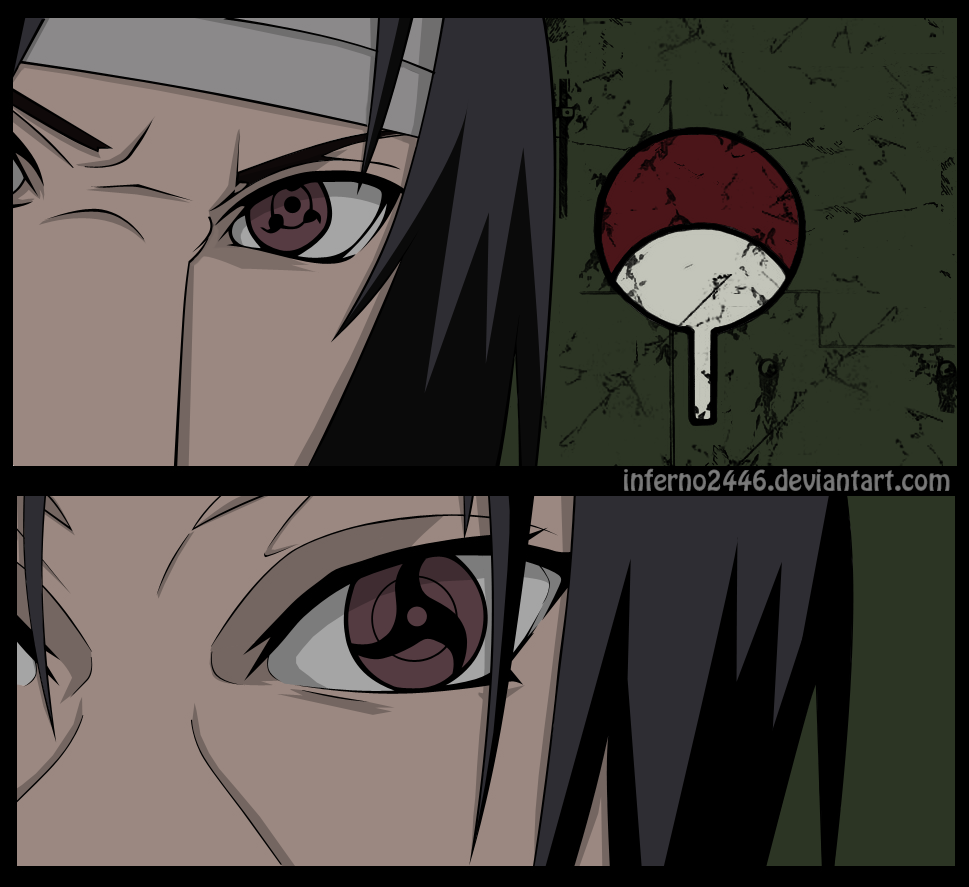 Itachi vs Sasuke by iNFERNo2446 on DeviantArt