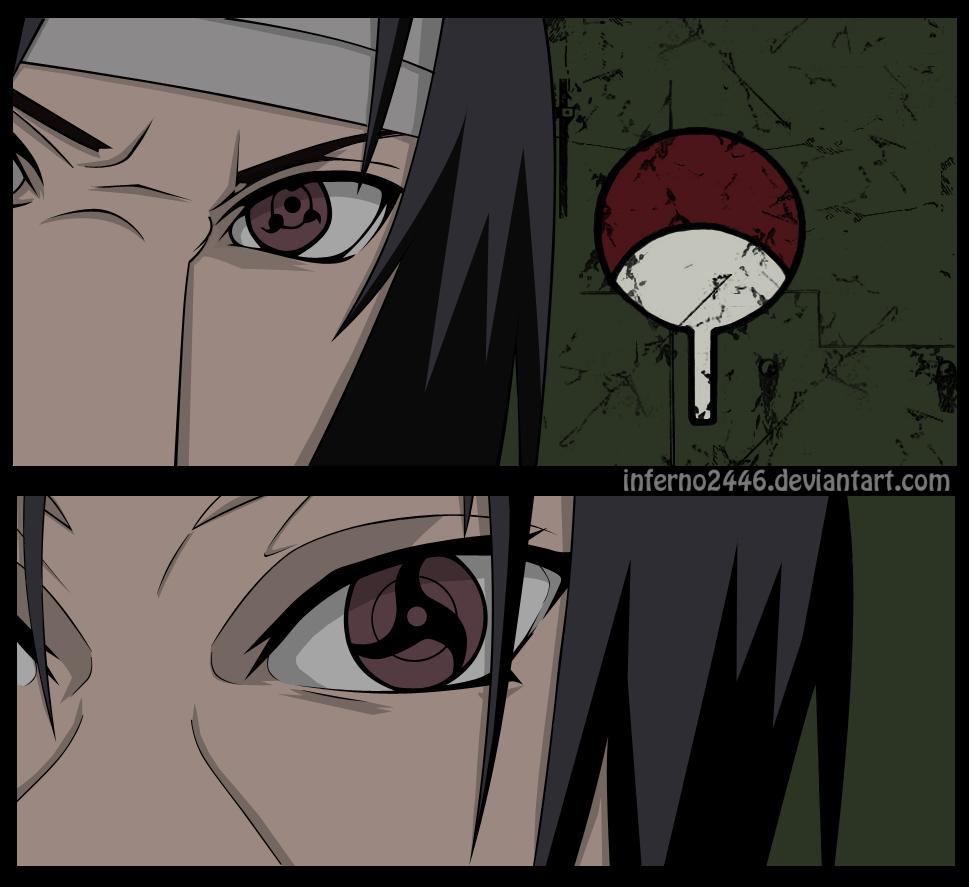 Itachi vs Sasuke by iNFERNo2446 on DeviantArt