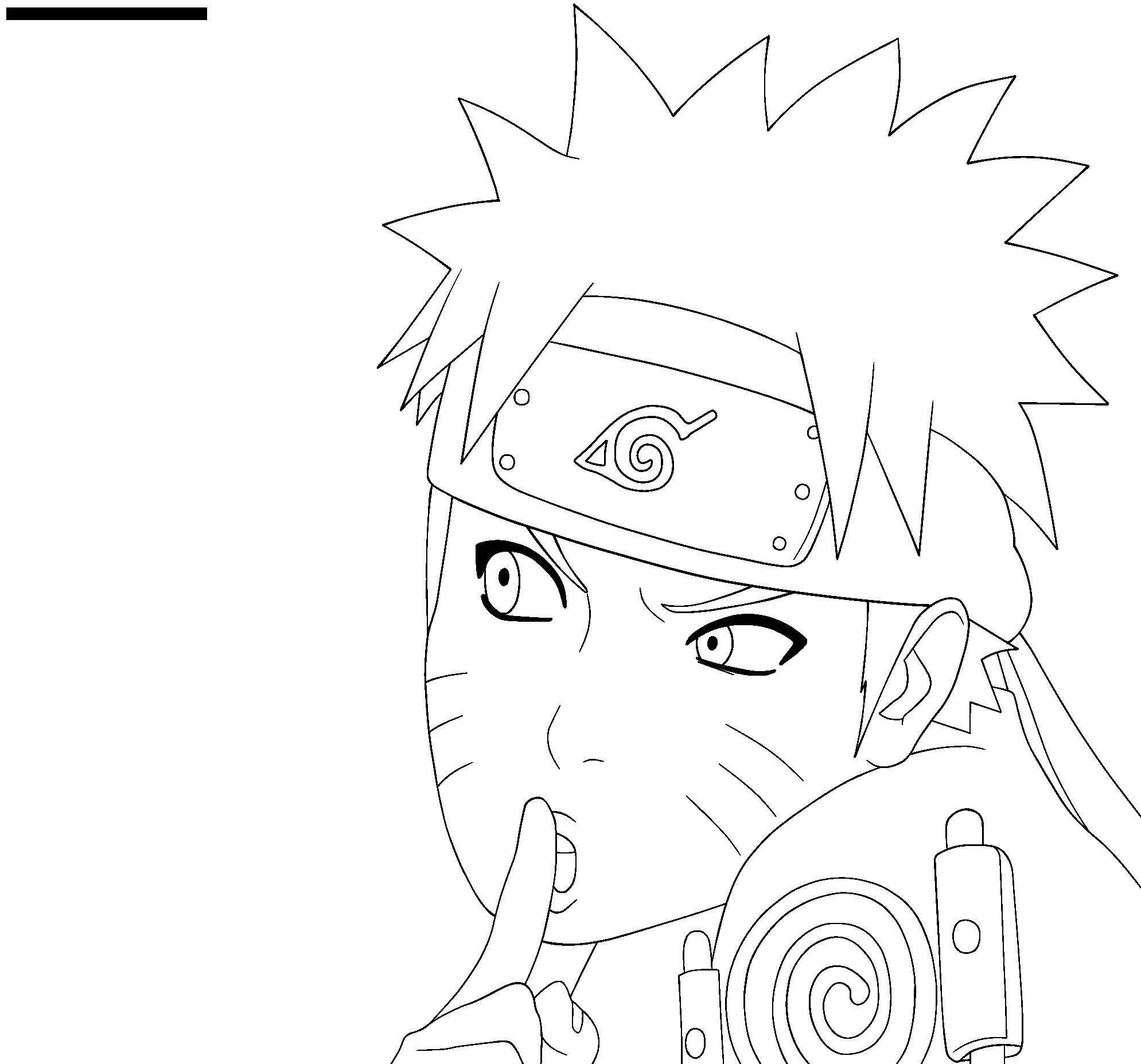 Lineart Naruto : Uzumaki naruto lineart by inferno on deviantart