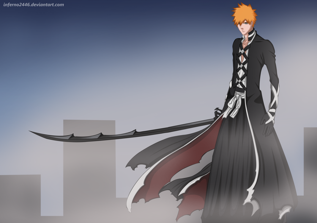 Bleach 475: New bankai Kurosaki Ichigo by iNFERNo2446 on ...