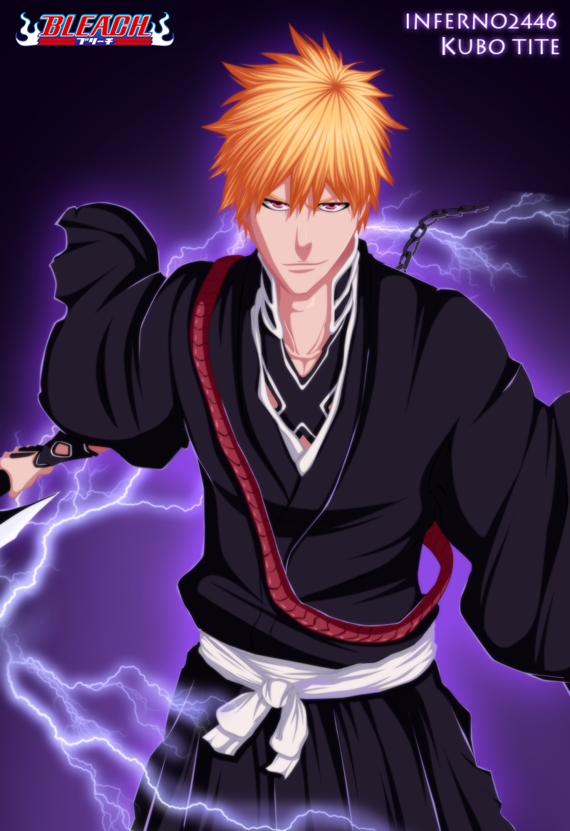 Bleach 480: Kurosaki Ichigo by iNFERNo2446