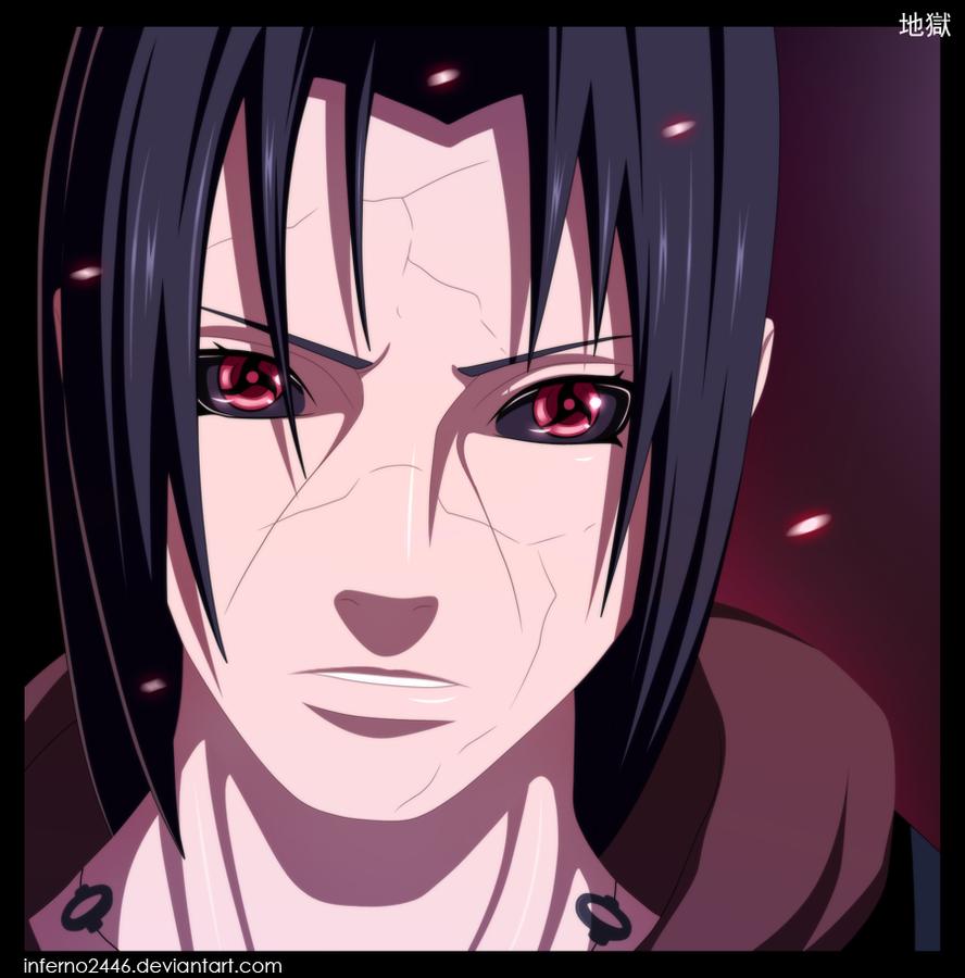 Naruto 558: Uchiha Itachi by iNFERNo2446