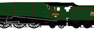 LNER W1 liveries - 60700