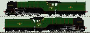 Peppercorn A2 liveries - 60532 'Blue Peter'