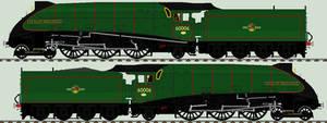 LNER A4 liveries - 60006 'Sir Ralph Wedgwood'