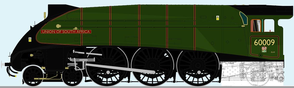 Drawing progress - LNER A4 by 2509-Silverlink