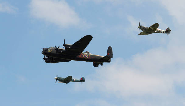 The Battle Of Britain Memorial Flight