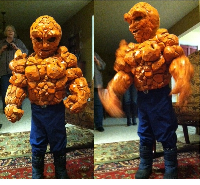 Fantastic four thing costume marvel by Ogrelord1 on DeviantArt