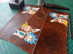 Rick and morty Fun Wallet by Bayvey