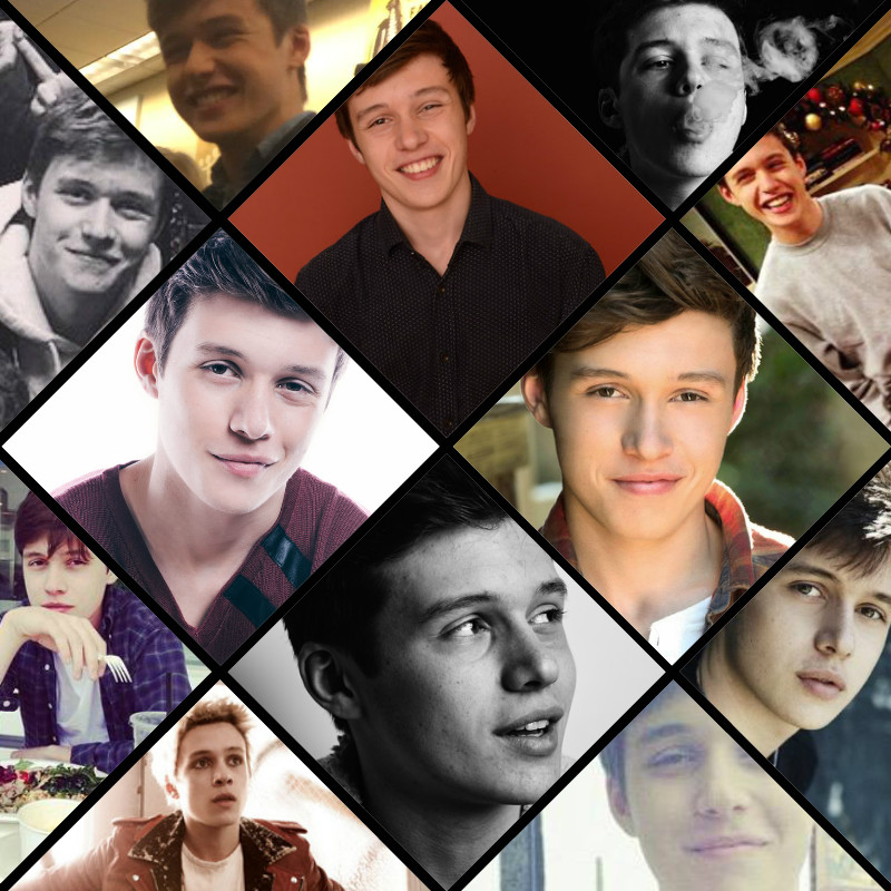Collage Nick Robinson By Yulithekiller On Deviantart