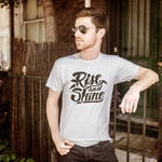 Rise and Shine - Hand Lettered T-Shirt Design