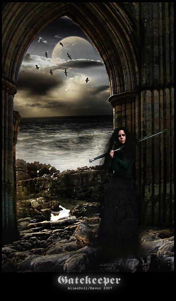 Gatekeeper by AlienDoll