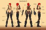 Jenna Character Concept (Original Character)