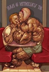 StValentine Kisses by zebodoy