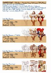 Zebodoy commissions 2/4 A4 by zebodoy