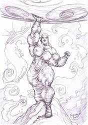 Holy Battle Virgin Mary c by zebodoy
