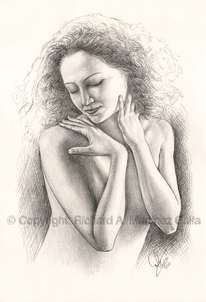 20130901 - a portrait in pencil by ibnteos