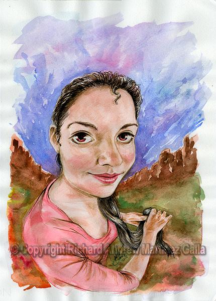 20150108 - fisheye watercolor by ibnteos