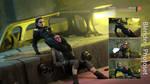 Light vs Dark - Rey vs Dark Rey by Tekken7Wallpapers