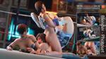 La Mariprison - Lisa vs Asuka by Tekken7Wallpapers