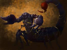 Scorpion Man by PRATT-FACE