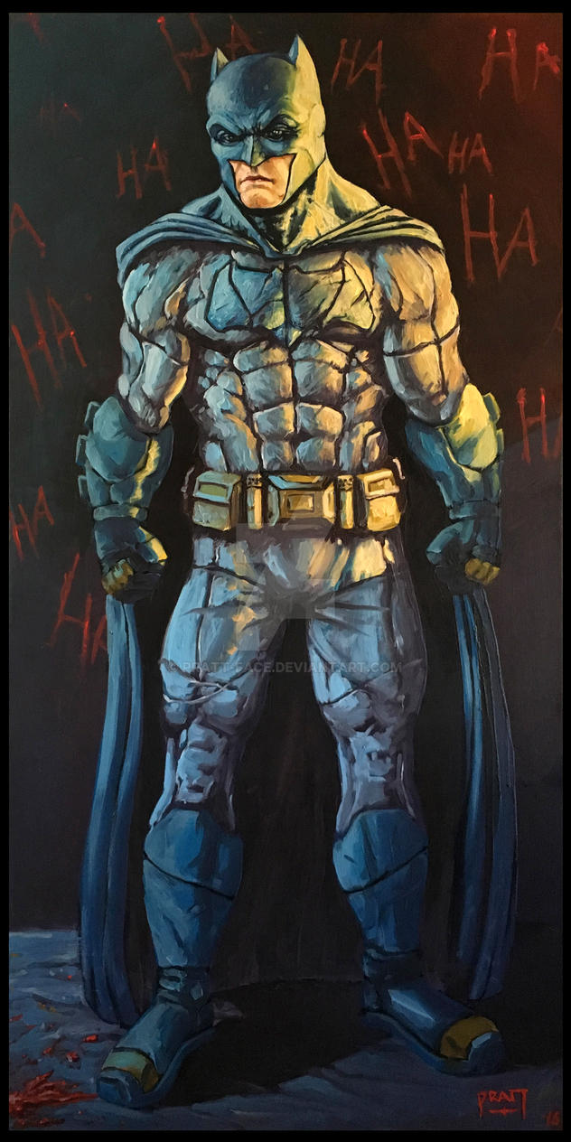 Batman by PRATT-FACE